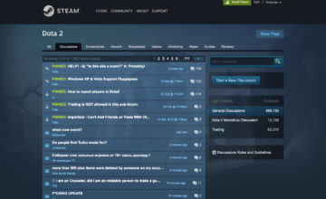 forums Steam