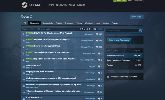 forums Steam