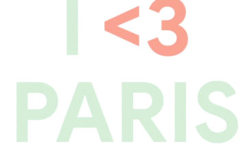 I Love Paris Pixel