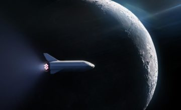 SpaceX Lune voyage