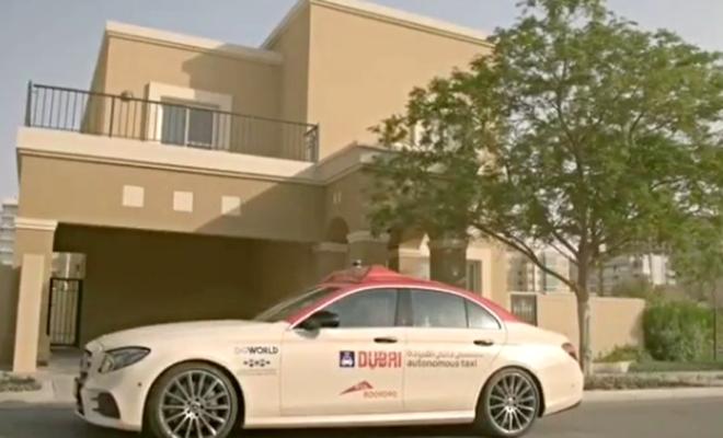 dubai taxi autonome