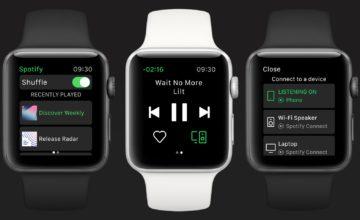 spotify app apple watch