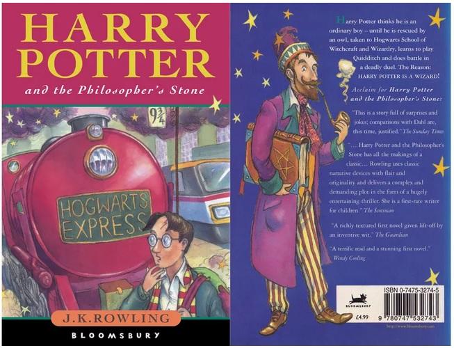 Une Edition En Anglais Du Premier Tome D Harry Potter Vendue