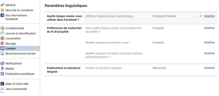 facebook connexion bienvenue