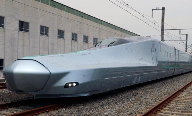 Le Japon teste son train à très grande vitesse, l'Alfa-X