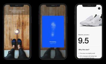 Nike utilise la réalité augmentée pour vous aider à trouver vos baskets