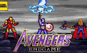 Une version 16 bits du combat final dans Avengers: Endgame