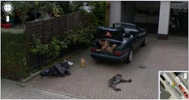 Top 10 des trucs insolites photographiés avec Google Maps