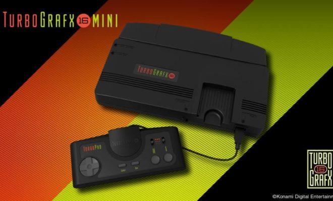 E3 2019 : Konami rejoint le marché de la mini console avec la TurboGrafx-16 Mini