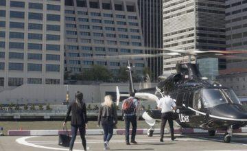Uber commencera à proposer des balades en hélicoptère à New York le mois prochain