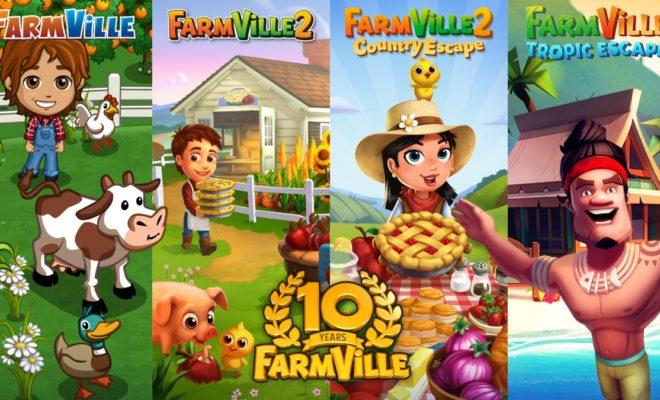 Zynga célèbre les 10 ans de FarmVille avec un nouveau jeu mobile