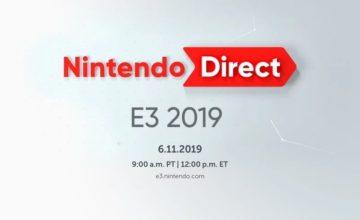 E3 2019 : Les principales annonces de la conférence Nintendo