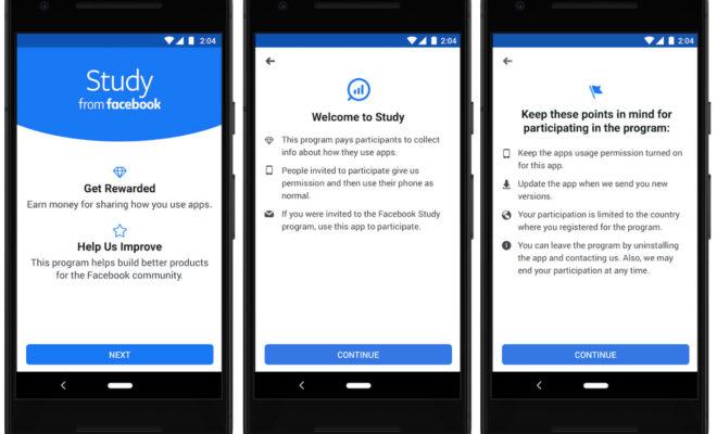 Study, une application de Facebook qui vous payera en échange de vos données