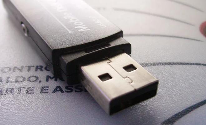 Le port USB d'origine n'était pas réversible à cause du prix