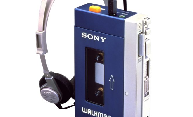 Le Walkman de Sony fête ses 40 ans