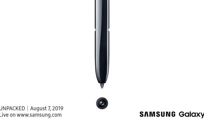 Samsung présentera officiellement le Galaxy Note 10 le 7 août