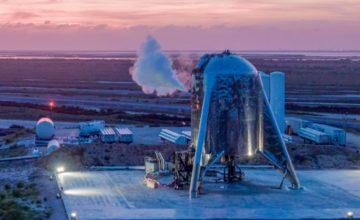 Starhopper : SpaceX a fait voler pour la première fois le prototype du Starship