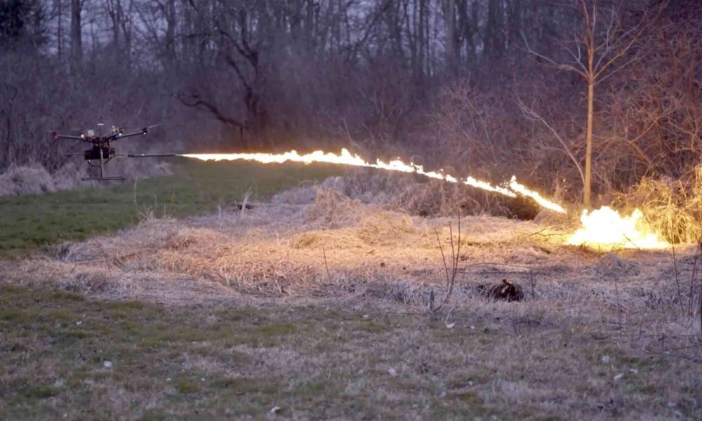 TF-19 : Un drone lance-flammes