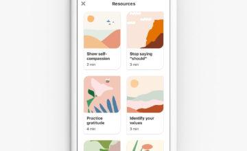 """Pinterest propose désormais des """"activités de bien-être émotionnel"""" aux utilisateurs stressés"""