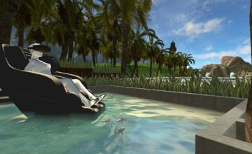 un centre de massage qui utilise la réalité virtuelle pour offrir une «relaxation immersive»