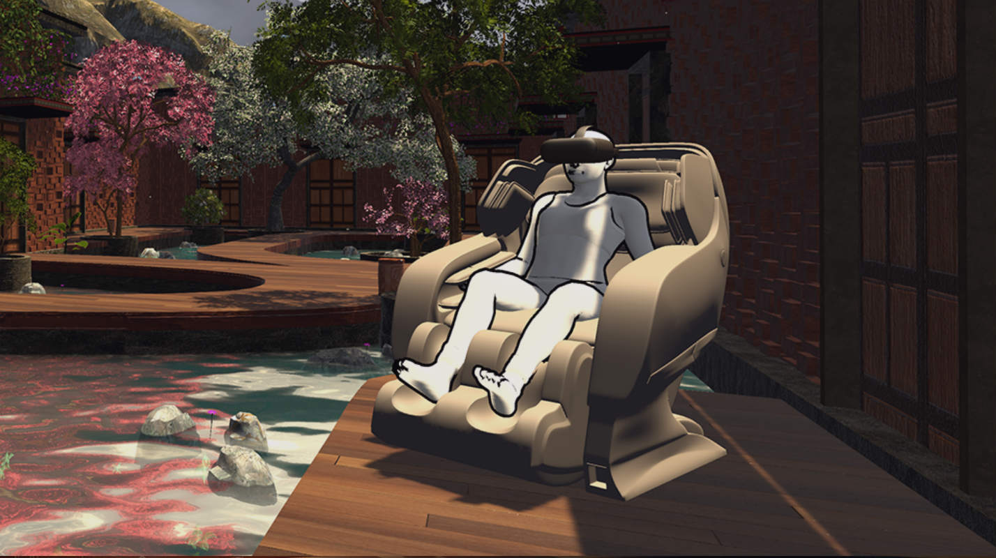 un centre de massage en VR va ouvrir ses portes à Los Angeles