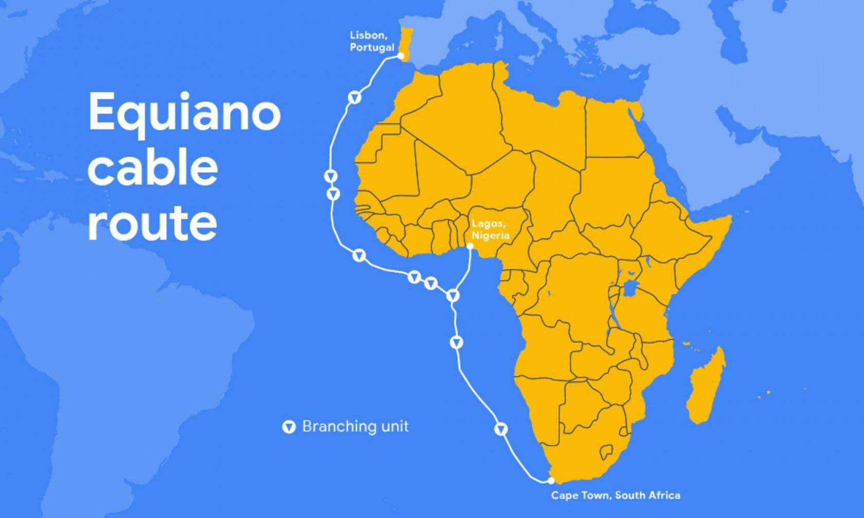 Equiano : Google Cloud déploie un câble sous-marin entre l'Europe et l'Afrique