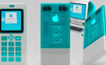 Un artiste réinvente l'iPhone en s'inspirant d'un vieux Macintosh
