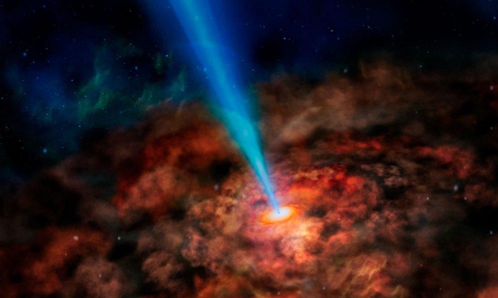 Le télescope Hubble repère un trou noir qui ne devrait pas exister