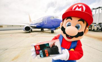 Les passagers d'un vol de Southwest Airlines ont reçu une Nintendo Switch