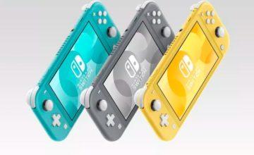 Nintendo annonce la Switch Lite