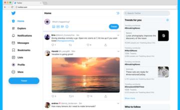 Twitter déploie sa nouvelle version web