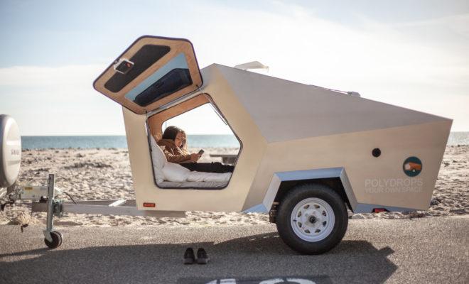 Polydrops invente une mini caravane futuriste