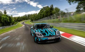 Porsche Taycan : record de vitesse pour une voiture électrique à quatre portes sur le circuit du Nurburgring