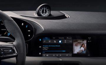 La Porsche Taycan sera la première voiture de la marque à intégrer une application Apple Music
