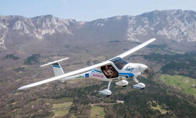 Le premier avion électrique de Norvège s'écrase dans un lac
