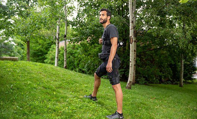 Un exosuit qui facilite la marche et la course grâce à l'intelligence artificielle