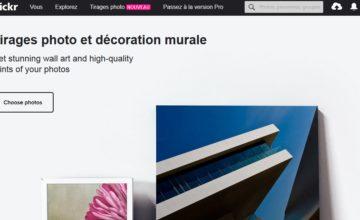 Flickr vous permet maintenant de commander des tirages photo sur son site