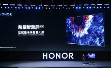 Honor Vision TV : la première TV connectée de Huwaei
