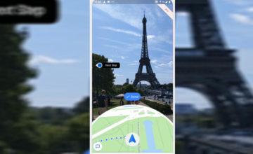 Google Maps propose maintenant de naviguer en réalité augmentée sur iOS en Android