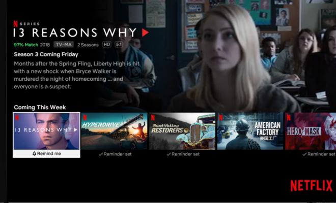 Netflix facilite la découverte des programmes disponibles sur son application
