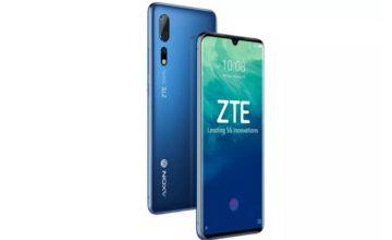 ZTE lance son premier téléphone 5G en Chine
