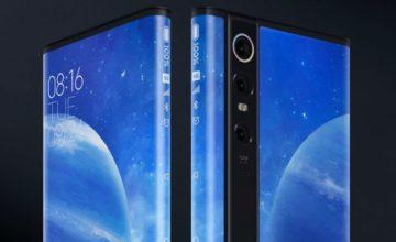 Xiaomi dévoile le Mi Mix Alpha, un smartphone avec un écran enveloppant