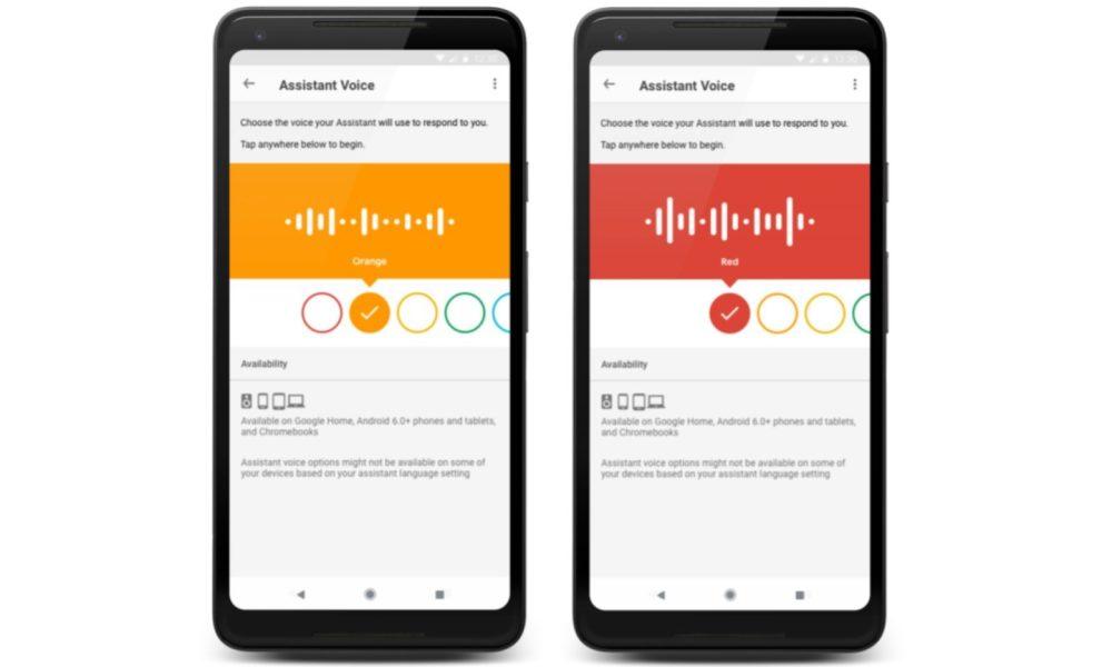 Google Assistant dispose d'une deuxième voix dans neuf pays