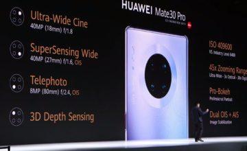 Huawei dévoile son nouveau téléphone Mate 30 Pro