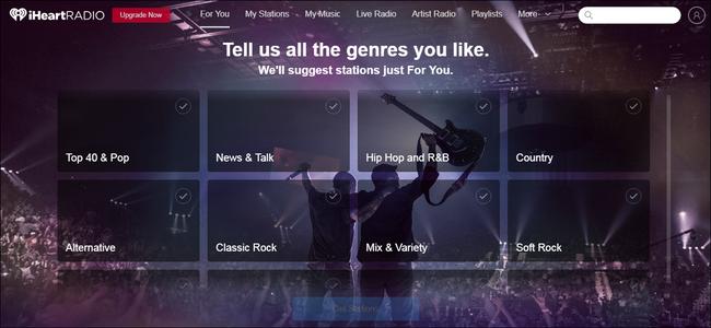 iHeart Radio applications gratuites de musique