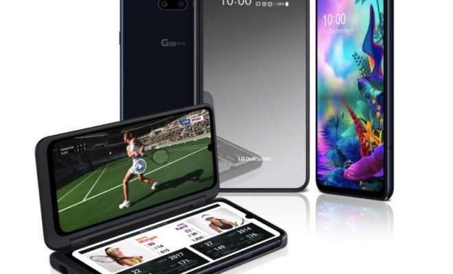 LG G8X ThinQ : un smartphone à double écran : fiche technique