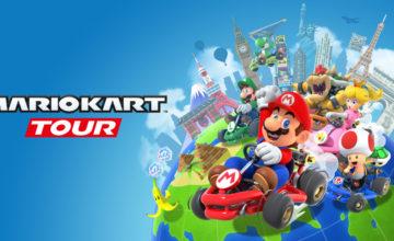 Lancement de Mario Kart Tour avec l'option d'abonnement mensuel