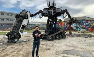 MegaBots met un robot de combat géant sur eBay car l'entreprise est en faillite