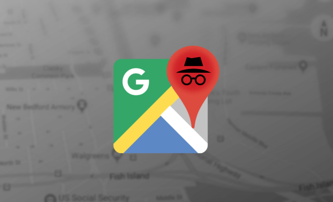 Google teste le mode Incognito pour Google Maps