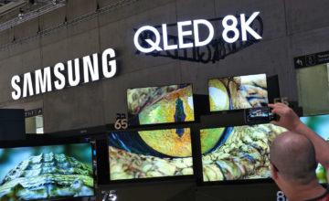 Samsung planche sur un téléviseur 5G 8K avec SK Telecom